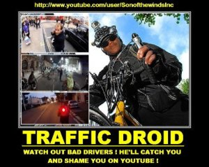 lewis traffic droid